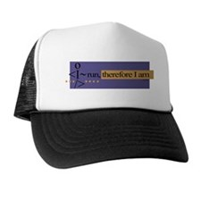 I run, therefore I am Trucker Hat