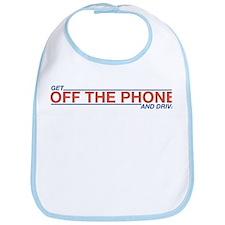 Get Off the Phone Bib