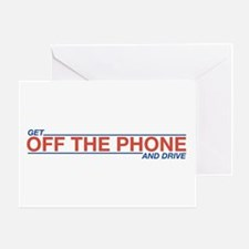 Get Off the Phone Greeting Card