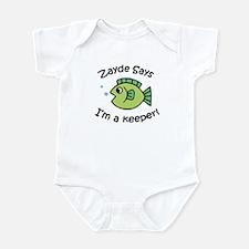 Zayde Says I'm a Keeper! Infant Bodysuit