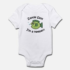 Zayde Says I'm a Keeper! Onesie