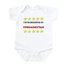 I'm Worshiped In Turkmenistan Infant Bodysuit