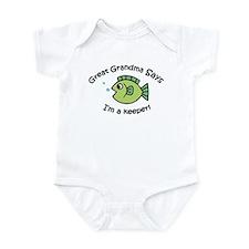 Great Grandma Says I'm a Keeper! Infant Bodysuit