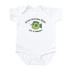 Great Grandpa Says I'm a Keeper! Baby Onesie
