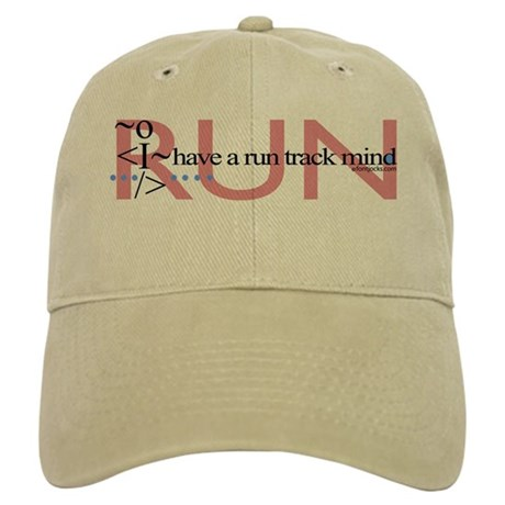 Run Track Mind Cap