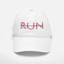 Run Track Mind Baseball Baseball Cap