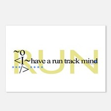 Run Track Mind Postcards (Package of 8)