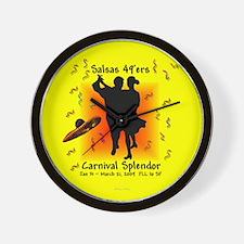 Carnival Splendor Salsas 49'ers Wall Clock