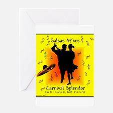 Carnival Splendor Salsas 49'ers Greeting Card