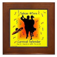 Carnival Splendor Salsas 49'ers Framed Tile