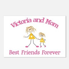 Victoria & Mom - Best Friends Postcards (Package o