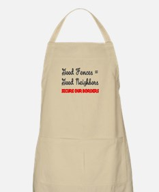 Anti Illegal Immigration BBQ Apron