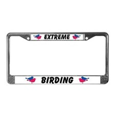 Extreme Birding License Plate Frame