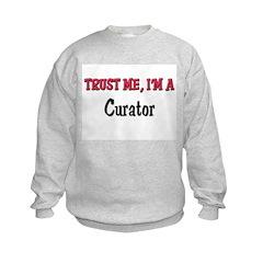 Trust Me I'm a Curator Sweatshirt