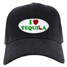 TEQUILA SHIRT I LOVE TEQUILA Baseball Hat