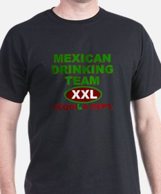 TEQUILA DRINKING TEAM MEXICO  T-Shirt