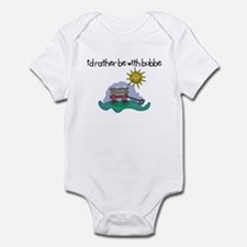 I'd Rather be with Bubbe Infant Bodysuit