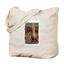 The Magic Circle by JW Waterhouse Tote