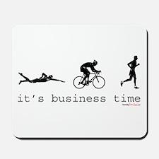 It's Business Time Triathlon Mousepad