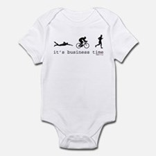 It's Business Time Triathlon Infant Bodysuit
