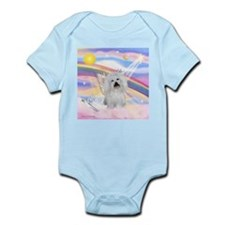 Clouds & Coton De Tulear Infant Creeper