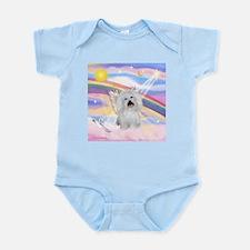 Clouds & Coton De Tulear Infant Creeper