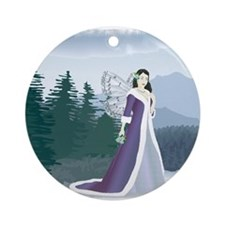 Ceytaline, Winter Fairy Keepsake (Round)