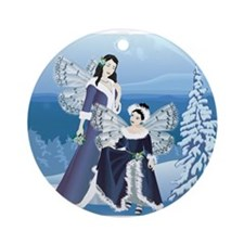 Ceytaline and Faydine, Fairies of Winter Keepsake