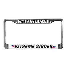 Extreme Birder License Plate Frame