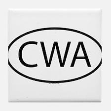 CWA Tile Coaster