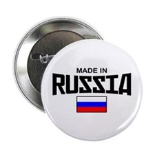 """Made in Russia 2.25"""" Button"""
