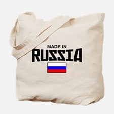 Made in Russia Tote Bag