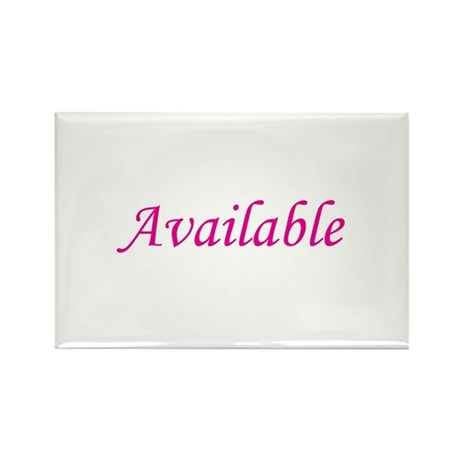 Available Rectangle Magnet (100 pack)