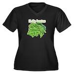 I dig hostas Women's Plus Size V-Neck Dark T-Shirt
