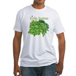 I dig hostas Fitted T-Shirt