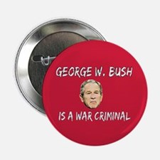 "WAR CRIMINAL 2.25"" Button"