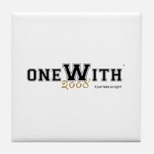 OneWith...2008 Tile Coaster