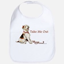 Wire Fox Terrier Dog Walk Bib