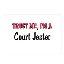 Trust Me I'm a Court Jester Postcards (Package of