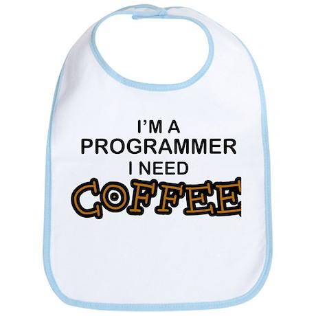 Programmer Need Coffee Bib