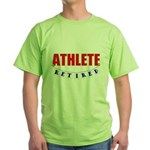 Retired Athlete Green T-Shirt
