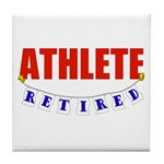 Retired Athlete Tile Coaster