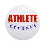 Retired Athlete Ornament (Round)