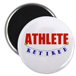 Retired Athlete Magnet