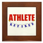 Retired Athlete Framed Tile