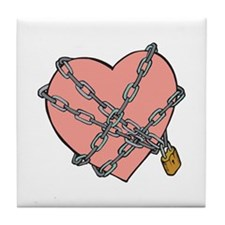 Funny Valentine's Day Gifts Tile Coaster