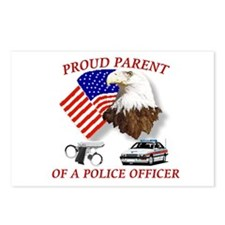 Funny Police wife Postcards (Package of 8)