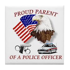Funny Policewives Tile Coaster