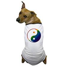 Gay Yin and Yang Dog T-Shirt
