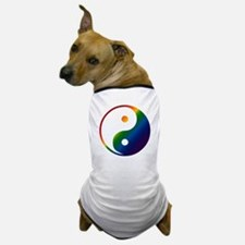 Gay Yin and Yang Dog T-Shirt